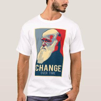 T-shirt Changement au fil du temps