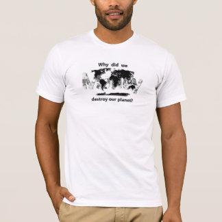 T-shirt Changement climatique