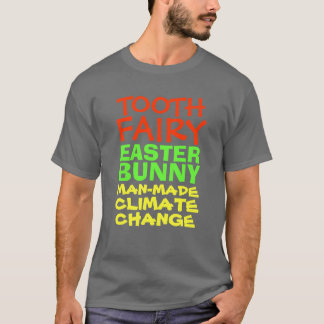 T-shirt Changement climatique synthétique de fée de dent