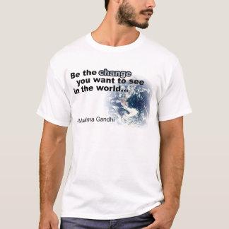 T-shirt changez le blanc