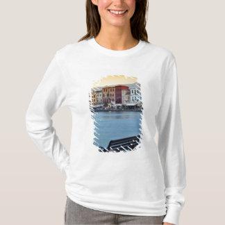 T-shirt Chania au crépuscule, Chania, Crète, Grèce