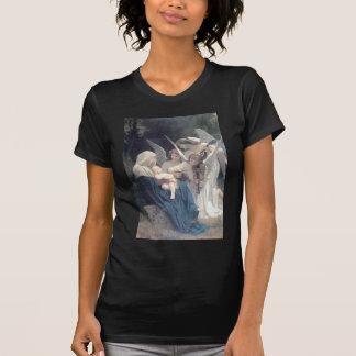 T-shirt Chanson de la religion antique de bébé de peinture