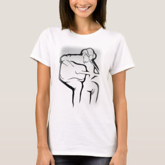 T-shirt Chanson simple
