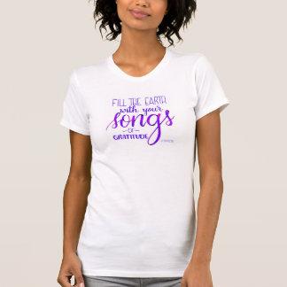 T-shirt Chansons de gratitude, C.H. Spurgeon Quote,