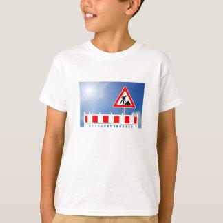 T-shirt Chantier, barrage de chantier et ski de chantier