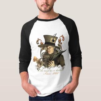 T-shirt Chapelier fou (customisez la date !)