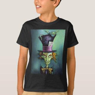 T-shirt Chapelier fou foncé d'Alice au pays des merveilles