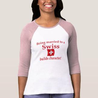T-shirt Char suisse de constructions