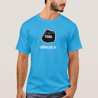 T-shirt Charbon - légalisez-le chemise