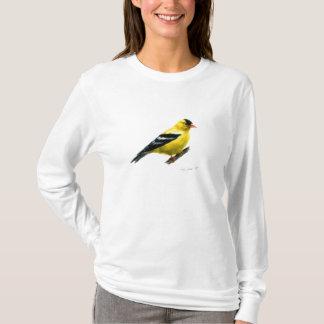 T-shirt Chardonneret par Cindy Agan