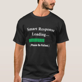 T-shirt chargeant 2, ResponseLoading futé…, (svp B…
