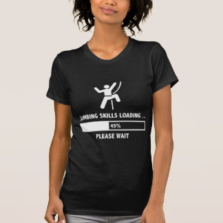 T-shirt Chargement de qualifications d'escalade