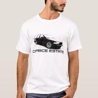 T-shirt Chariot de domaine de caprice