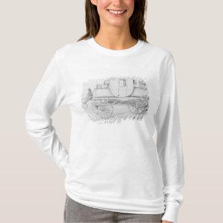 T-shirt Chariot de la vapeur du chariot de hôpital, 1827