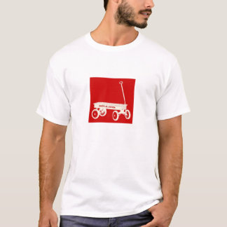T-shirt Chariot rouge