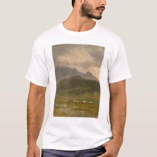 T-shirt Chariots couverts par Bierstadt (0101A)