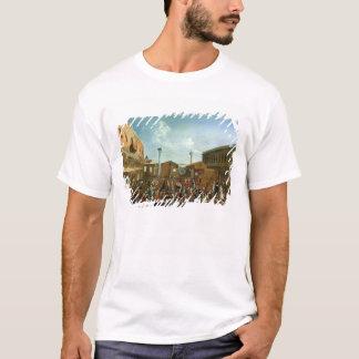T-shirt Charlatans dans le Piazzetta San Marco, Venise