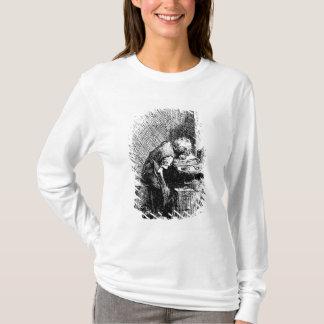 T-shirt Charles Dickens à l'usine noircissante