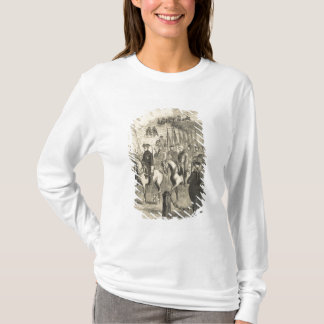 T-shirt Charles XII de la Suède entrant dans Copenhague