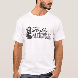 T-shirt Charme   de Harry Potter fortement logique