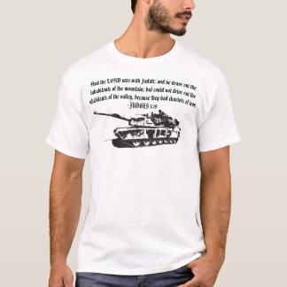 T-shirt Chars de chemise de réservoir de fer