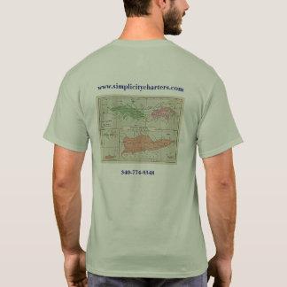T-shirt Chartes de simplicité