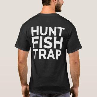 T-shirt Chasse, poisson, chemise de piège par Buffalo