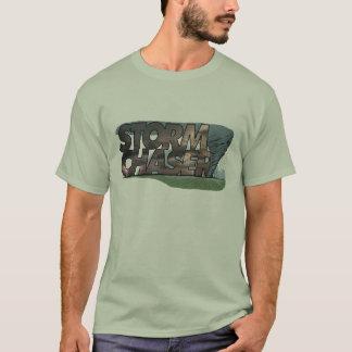 T-shirt Chasseur de tempête (photo de tornade)
