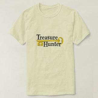 T-shirt Chasseur de trésor avec la clé d'or