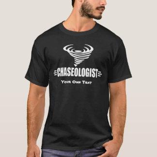 T-shirt Chasseur drôle de tempête de tornade de