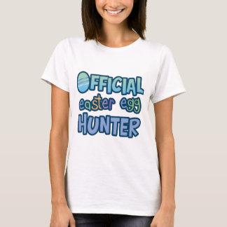 T-shirt Chasseur officiel coloré d'oeuf de pâques