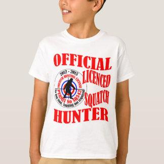 T-shirt Chasseur officiel de squatch