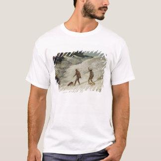 T-shirt Chasseurs dans la neige ou les braconniers