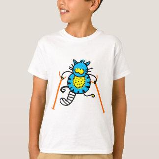 T-shirt Chat blessé