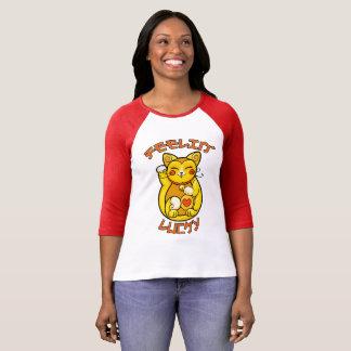 T-shirt Chat chanceux de Feelin