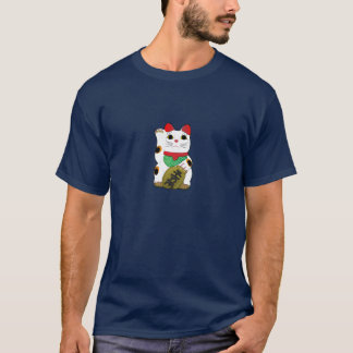 T-shirt Chat chanceux foncé