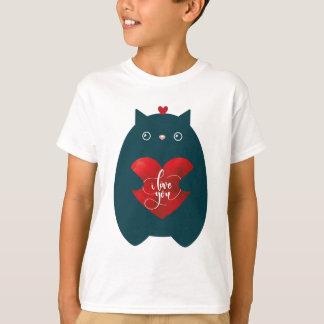 T-shirt Chat dans l'amour - Saint Valentin mignon de
