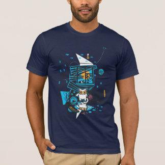 T-shirt Chat de bandit