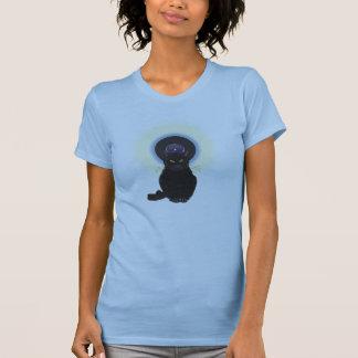 T-shirt Chat de bleus
