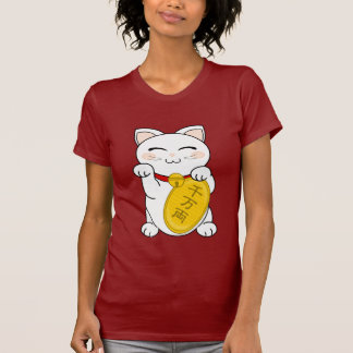 T-shirt Chat de bonne chance - Maneki Neko