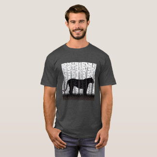 T-shirt Chat de bouleau