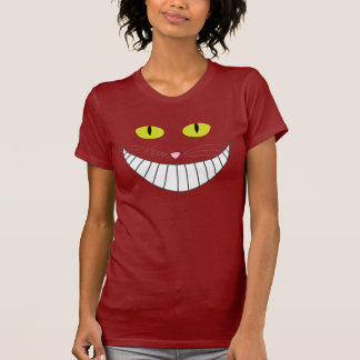 T-shirt Chat de Cheshire (idiot)