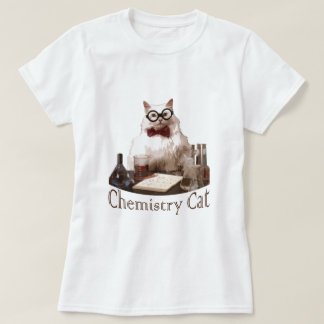 T-shirt Chat de chimie (du reddit de memes 9gag)