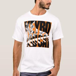 T-shirt Chat de clavier - bloc - pièce en t