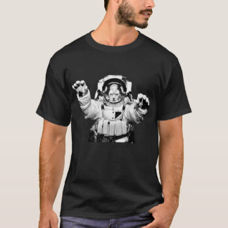 T-shirt Chat de cosmonaute