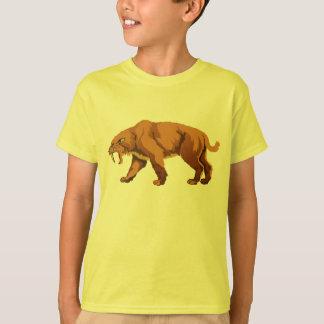 T-shirt Chat de dent de sabre