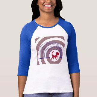 T-shirt Chat de Doppler