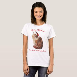 T-shirt Chat de Joyeux Noël