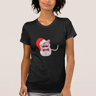 T-shirt Chat de Père Noël