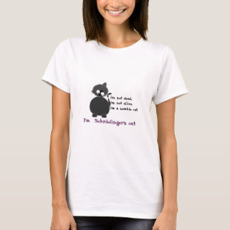 T-shirt Chat de Schrodinger´s